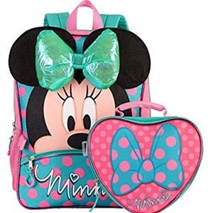 NEW Minnie Mouse backpack with detachable sack!